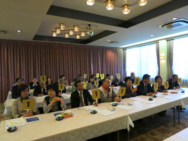 税を考える週間行事 2014ミニ税金フォーラムを開催